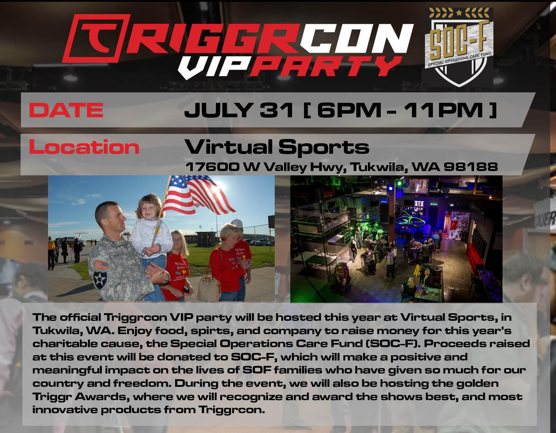 Triggrcon VIP Party