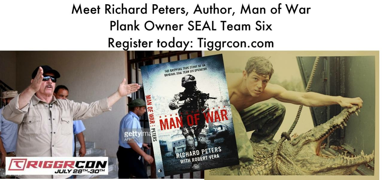 Rich Peters, SEAL Team Six Escape from Libya - TriggrCon